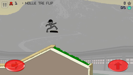 Stickman Skater Screenshot